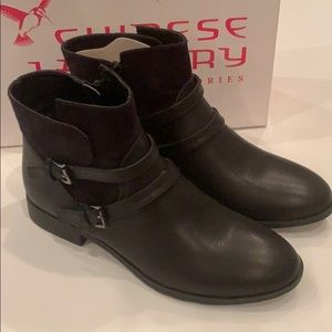 Chinese Laundry Fave Short Booties, NWB